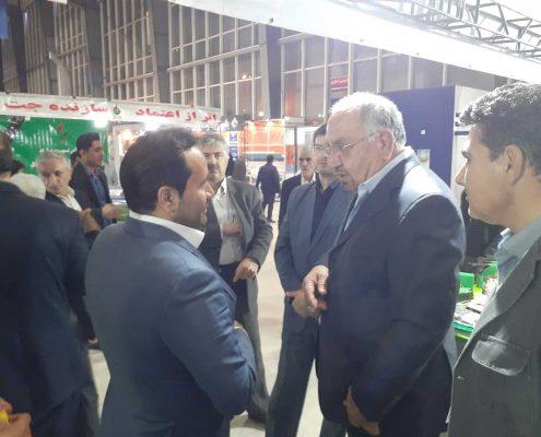 معرفی آبرسان نوید در نمایشگاه